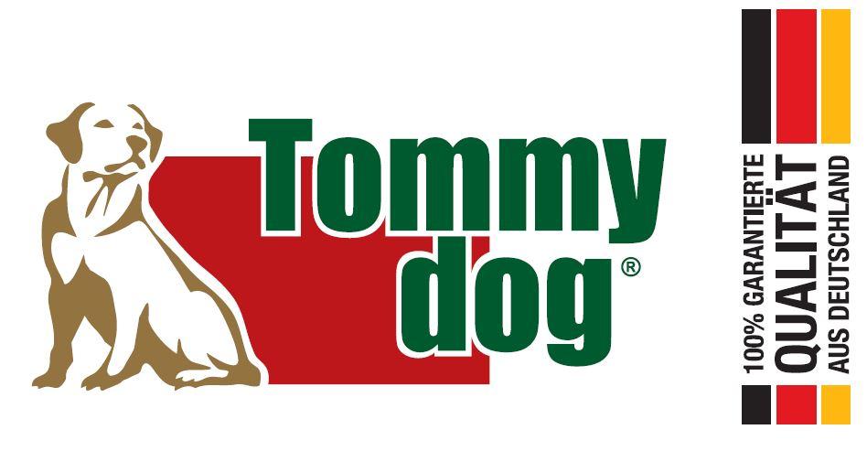 Tommydog - Naturkauartikel für Hunde-Logo